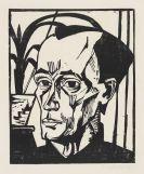 Heckel, Erich - Woodcut
