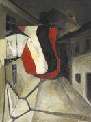 Curt Ehrhardt - Die Gasse (Fahnen wehen in der Nacht)