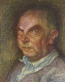 Meidner, Ludwig - Oil on fibreboard