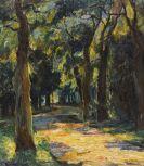 Pippel, Otto - Oil on canvas