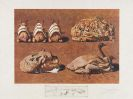 Salvador Dalí - Les caprices pincés princiers. Les suprênes de aillaise liliputiens.Les spoutniks astiques élasticots statistiques. Les chairs monarchiques