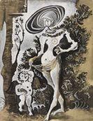 Pablo Picasso - Venus et L´Amour , d´apres Lucas Cranach l´ancien