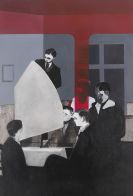 Baumgärtel, Tilo - Acrylic on panel