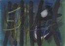Fritz Winter - Gräser vor dem Wald