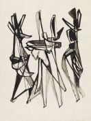 Hans Uhlmann - Ohne Titel (Figurale Komposition)