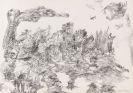 Schultze, Bernard - Pen and ink drawing