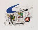 Joan Miró - Pygmées sous la lune