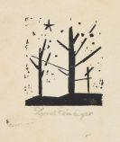 Lyonel Feininger - Bäume und Stern