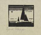 Feininger, Lyonel - Ketsch mit Stern