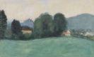 Max Peiffer Watenphul - Salzburg, Blick auf die Festung