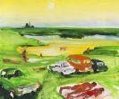 Kroner, Sven - Acrylic on canvas