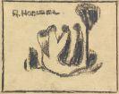 Hölzel, Adolf - Bleistiftzeichnung