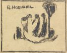 Hölzel, Adolf - Pencil drawing