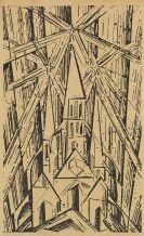 Feininger, Lyonel - Holzschnitt