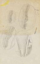 Roy Lichtenstein - Sketches for Mirror paintings