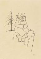 Grosz, George - Reed pen