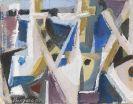 Bargheer, Eduard - Oil on canvas