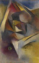 Ehrhardt, Curt - Oil on cardboard