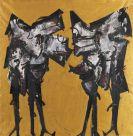 Platschek, Hans - Oil on canvas