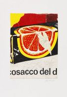 Rotella, Mimmo - Lithograph in colors
