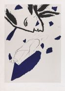 Paladino, Mimmo - Lithograph in colors