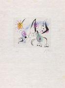 Joan Miró - Aus: La Bague d´Aurore