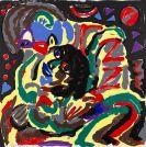 Penck (d.i. Ralf Winkler), A. R. - Farbserigrafie