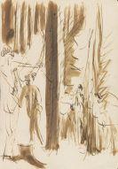 Kirchner, Ernst Ludwig - Ink