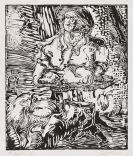 Baselitz, Georg - Woodcut