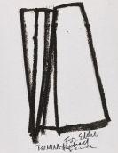 Serra, Richard - Oil crayon