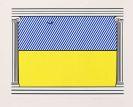 Lichtenstein, Roy - Farbserigrafie