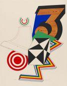 Pezzo, Lucio Del - Lithograph in colors