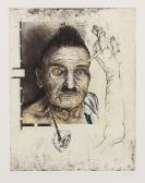 Petrick, Wolfgang - Etching and aquatint in colors