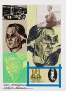 Kitaj, Ronald B. - Silkscreen in colors