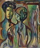 Max Kaus - Zwei Frauen