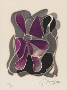 "Georges Braque - Iris (aus ""Lettera amorosa"")"