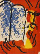 Chagall, Marc - Lithograph in colors