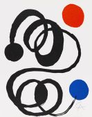 Calder, Alexander - Lithograph in colors