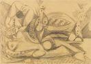 Nay, Ernst Wilhelm - Bleistiftzeichnung