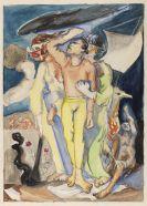 Meidner, Ludwig - Watercolor