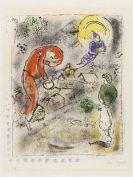 Marc Chagall - Die Dächer