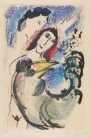 Chagall, Marc - Etching in colors