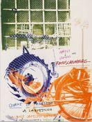 Rauschenberg, Robert - Silkscreen in colors