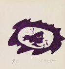 Georges Braque - Tête violette