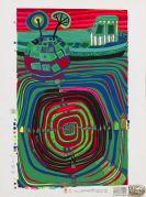 Friedensreich Hundertwasser - La Barca - Regentag