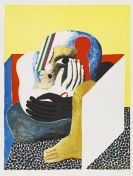 Antes, Horst - Lithograph in colors