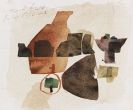 Bissier, Julius - Watercolor