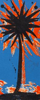 Piene, Otto - Lithograph in colors