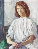 Laserstein, Lotte - Oil on canvas