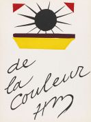 Matisse, Henri - Lithograph in colors